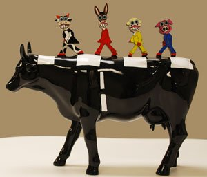 CowParade All you need is POP (Museum Edition) by