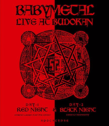 【送料無料】【LIVE AT BUDOKAN~ RED NIGHT   BLACK NIGHT APOCALYPSE ~ [Blu-ray]】     b00pf905u6