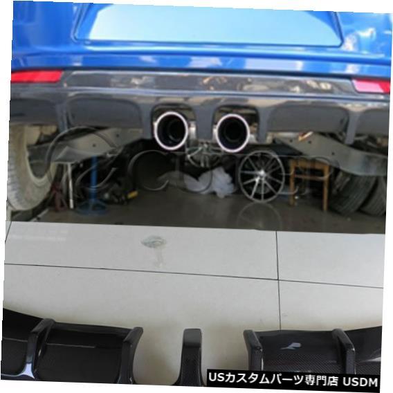 正規店仕入れの 輸入カーパーツ Spoiler Rear R20スタイルカーリアリップカーボンファイバーバックバンパースポイラーディフューザーfor Volkswagen Scirocco Volkswagen Rバンパーミドル2アウト排気09-15 R20 style Car Rear Lip Carbon Fiber Back Bumper Spoiler Diffuser for Volkswagen Scirocco R bumper mid, ミナミオグニマチ:94cda864 --- pavlekovic.hr