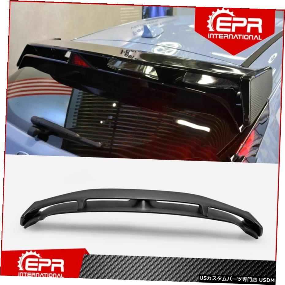 【高い素材】 輸入カーパーツ ベロスター2019 FRP + Nスタイルグラスファイバーリアスポイラー用(ブレーキライトなし)ベロスターFRPグラスファイバールーフウィングスプリッター用 For Veloster 2019+ with N Veloster Style Fiberglass Rear Spoiler (No with brake lights) For Veloster FRP Fiber Glas, 第6モジュール:e6b508cf --- aptapi.tarjetaferia.com.mx