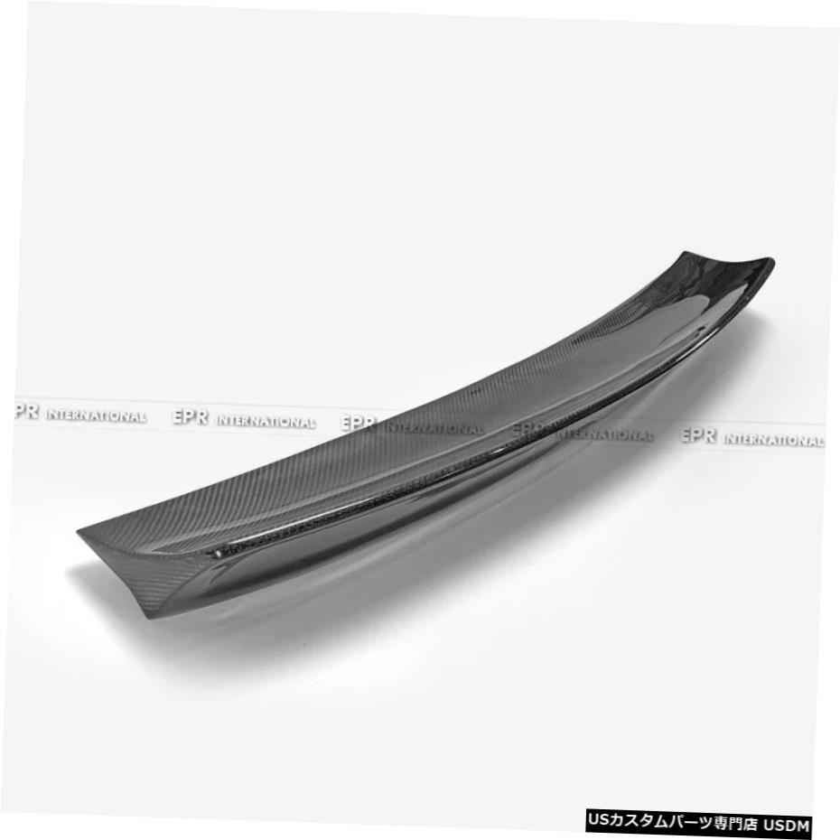 車用品 バイク用品 >> パーツ その他 輸入カーパーツ 14-18インプレッサWRXVAB VAF [正規販売店] STIEPAタイプ1リアスポイラー用カーボンルーフウィングトリム Carbon Roof Wing Rear STI For VAB アウトレット Trim EPA Impreza 1 14-18 Type WRX Spoiler
