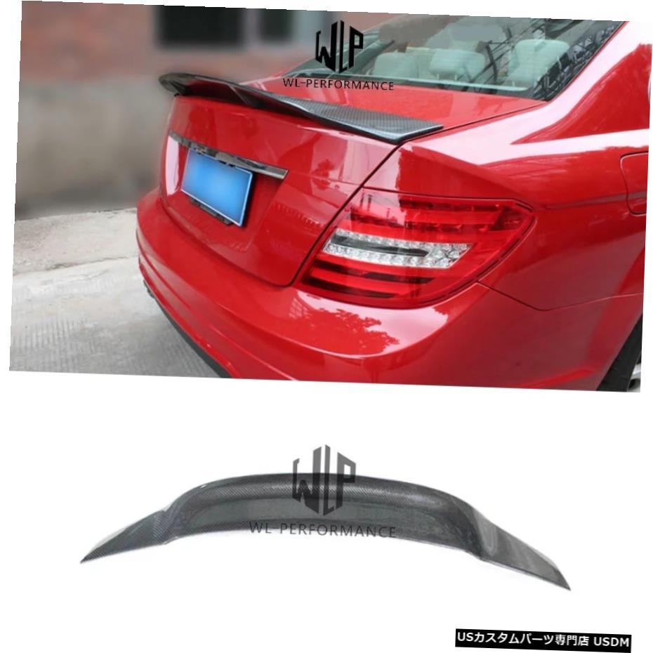 <title>車用品 バイク用品 >> パーツ [宅送] その他 輸入カーパーツ W204Rスタイルカーボンファイバーリアスポイラーウィング4ドアセダンカースタイリングメルセデスベンツCクラスW204カーボディキット2007-2013 W204 R Style Carbon Fiber Rear Spoiler Wings 4-doors Sedan Car Styling For Mercedes-Benz C Class</title>