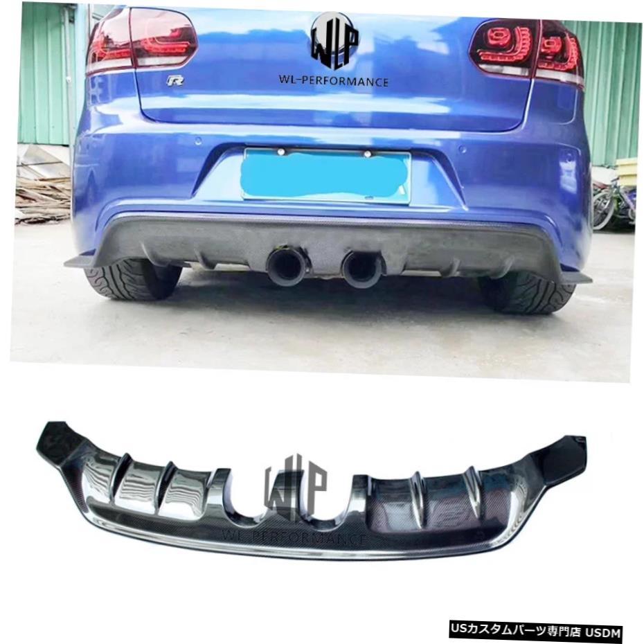 【即納】 輸入カーパーツ ゴルフ6R20カーボンファイバーリアバンパーリップディフューザーミドルアウトカースタイリングフォルクスワーゲンゴルフ6R20カーボディキット2010-2013 Golf 6 R20 Volkswagen Carbon Fiber R20 Rear Bumper For Lip Diffuser Middle Out Car Styling For Volkswagen Golf 6 R2, さぬきうどん 別腹倶楽部:01b9517d --- inglin-transporte.ch