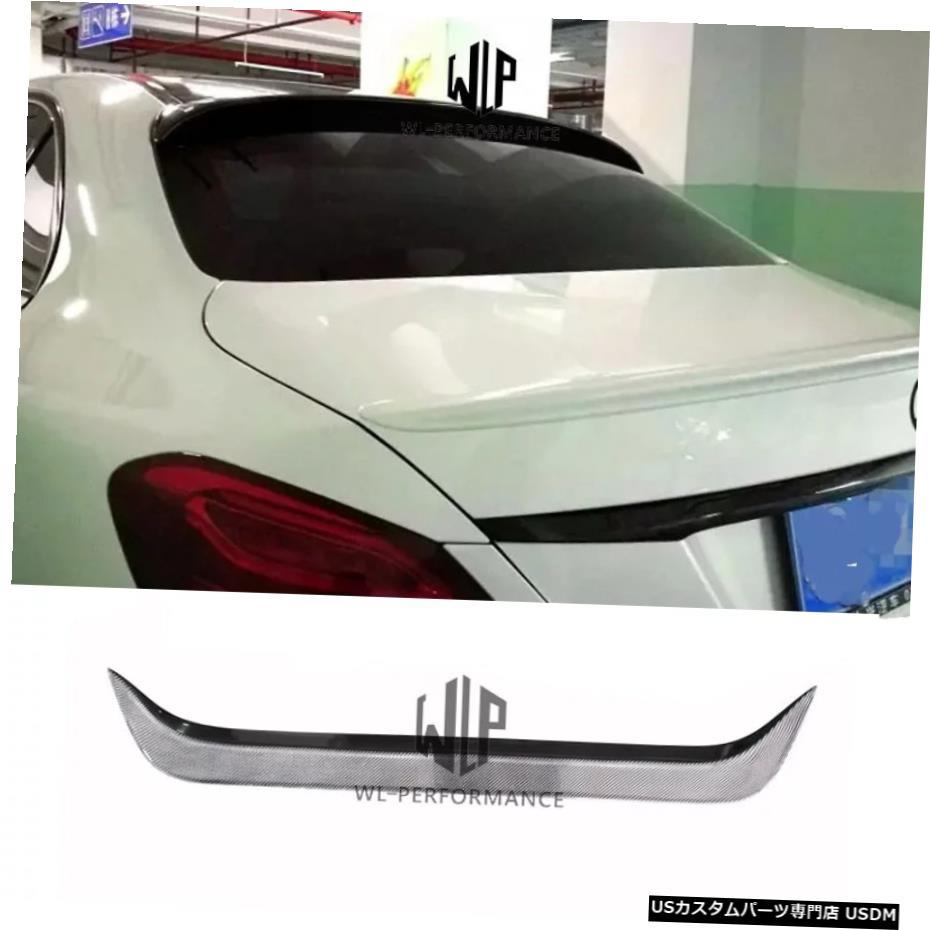 <title>車用品 バイク用品 >> パーツ その他 輸入カーパーツ W205カーボンファイバーリアスポイラー4ドアセダントップウィングメルセデスベンツCクラスのカースタイリングW204AMGスタイルの車体キット15-17 W205 Carbon Fiber Rear Spoiler 4-Doors Sedan Top Wings Car Styling For 蔵 Mercedes-Benz C Class W204 AMG S</title>