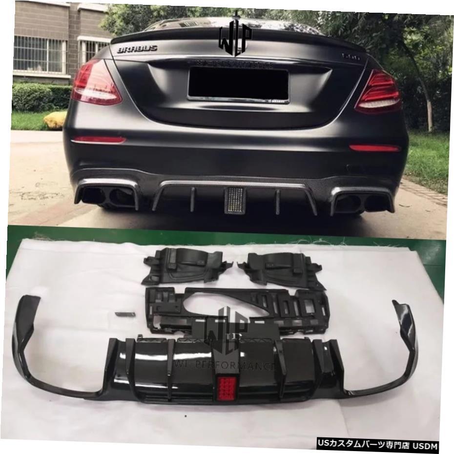 特別価格 輸入カーパーツ W213E300メルセデスベンツ用LEDライト付き高品質カーボンファイバーリアディフューザーW213E200車体キット2016-2019 W213 E300 High Car Quality High Carbon Fiber Rear Diffuser Diffuser With LED Lights For Mercedes Benz W213 E200 Car Body Kit 2016-2019, 私の布団屋さん寝具インテリア:761f2a06 --- pwucovidtrace.com