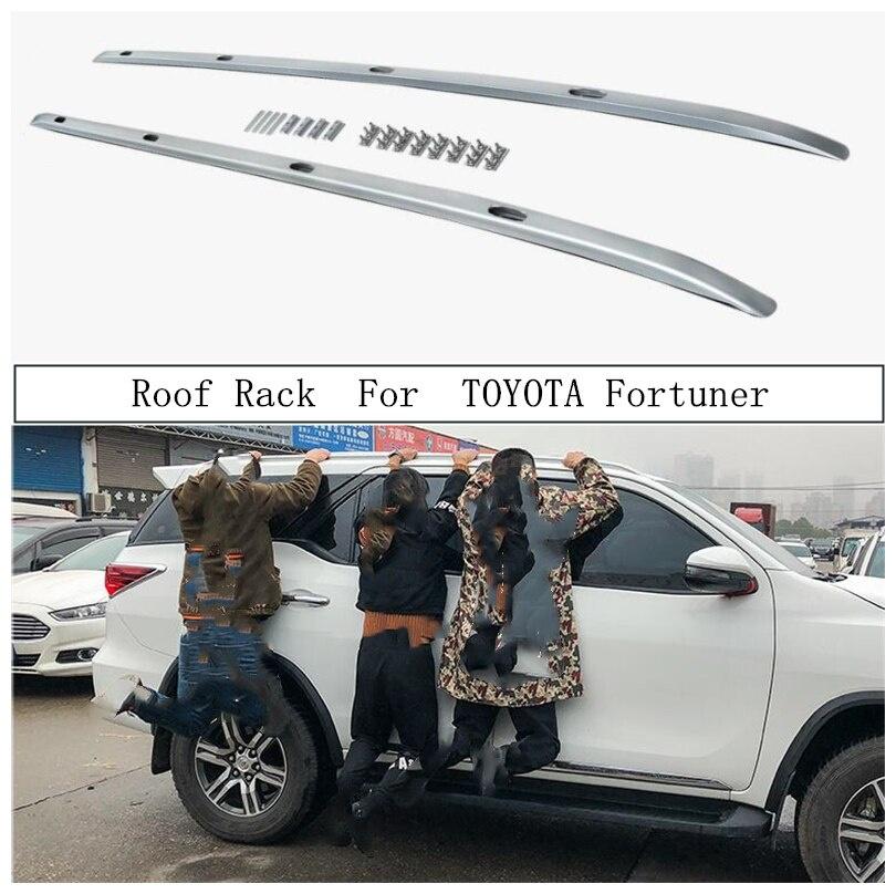 値引きする 輸入カーパーツ Rail TOYOTA Fortuner2016-2021用ルーフラックアルミ合金レールバーラゲッジキャリアバートップバーラックレールボックス TOYOTA For Roof Rack For TOYOTA Fortuner 2016-2021 Aluminum Alloy Rails Bar Luggage Carrier Bars top bar Racks Rail Boxes, ポッチワン:11871994 --- promilahcn.com