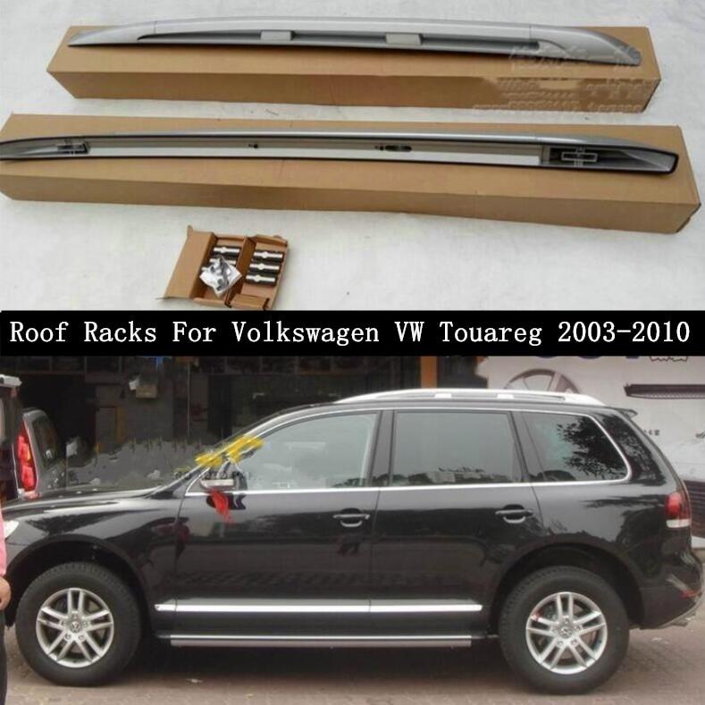 正規 輸入カーパーツ Volkswagen フォルクスワーゲンVWトゥアレグ2003-2010用ルーフラックアルミニウム合金レールバーラゲッジキャリアバートップバーラックレールボックス Roof Rai Rack Touareg For Volkswagen VW Touareg 2003-2010 Aluminum Alloy Rails Bar Luggage Carrier Bars top bar Racks Rai, 粋屋:d0d30816 --- pavlekovic.hr