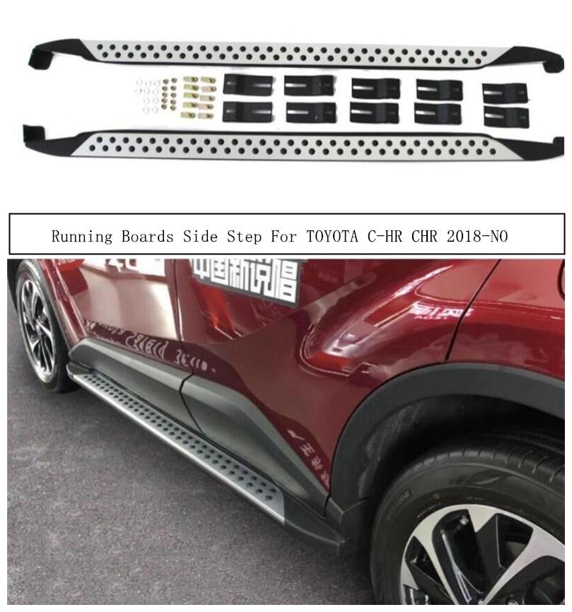 古典 輸入カーパーツ TOYOTA Side C-HR Boards CHR 2018 2019 2020221サイドステップバーペダル高品質Nerfバーオートアクセサリー用ランニングボード Running Auto Boards For TOYOTA C-HR CHR 2018 2019 2020 2021 Side Step Bar Pedals High Quality Nerf Bars Auto Accessories, リボン工房すみれ:3b407e14 --- santrasozluk.com