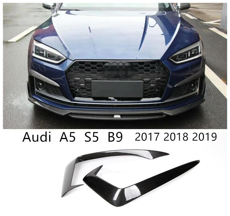 車用品 バイク用品 >> パーツ その他 輸入カーパーツ セール 登場から人気沸騰 アウディA5S5 B9 2017 2018 2019カーボンファイバーフロントグリルリップスポイラーバンパーディフューザー高品質オートアクセサリー For Audi A5 2019 Front Accessori Fiber Bumper S5 Quality Lip Grille High Diffuser Auto Spoiler Carbon 一部予約