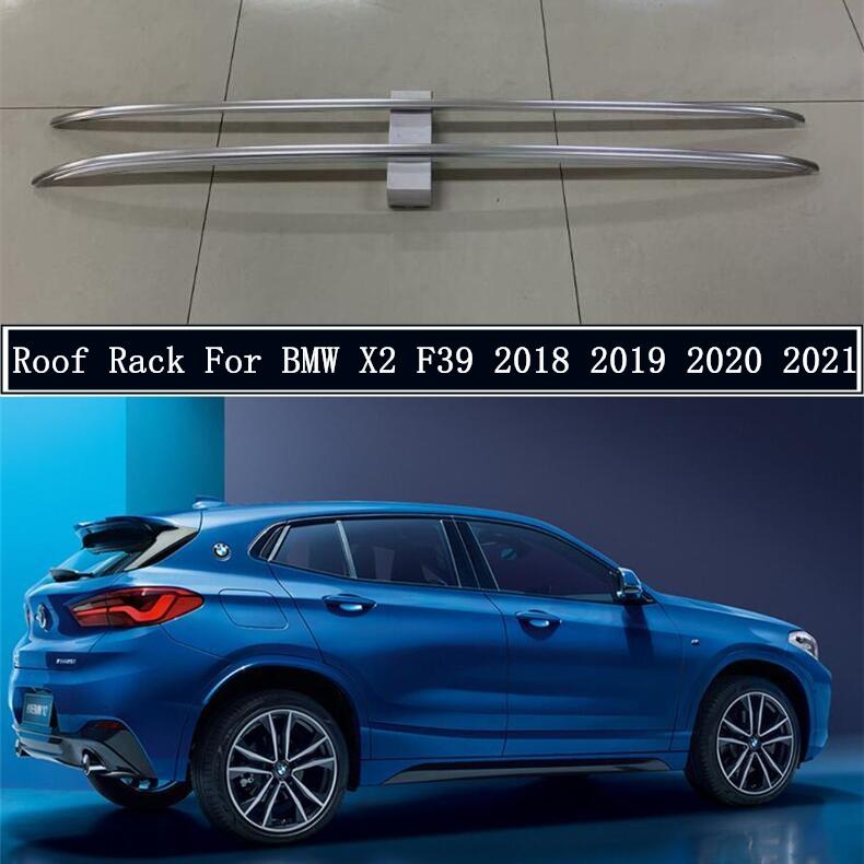 【超新作】 輸入カーパーツ BMW Bar X2 F39 2018 2019 20202021用ルーフラック高品質アルミニウム合金レールバー荷物キャリアバートップバーラックレールボックス High Roof 2018 Rack For BMW X2 F39 2018 2019 2020 2021 High Quality Aluminum Alloy Rails Bar Luggage Carrier Bars top bar Racks, Parade:b32998e6 --- promilahcn.com