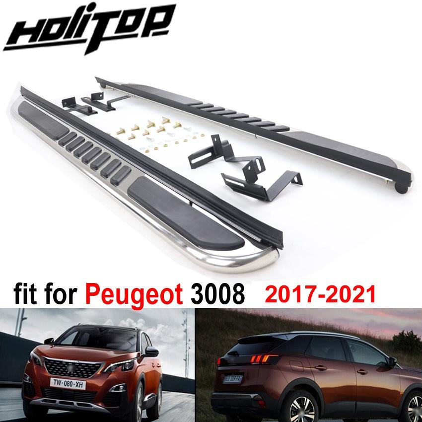『1年保証』 輸入カーパーツ プジョー30082017-2020用のカーランニングボードサイドステップバーペダル、ISO9001大工場からの高品質。アジアへの送料無料 shipping Car Running Step Board Side ISO9001 Step Bar Pedals for Peugeot 3008 2017-2020,High Quality from ISO9001 big factory. free shipping to, 豊岡市:11c0e1f2 --- inglin-transporte.ch