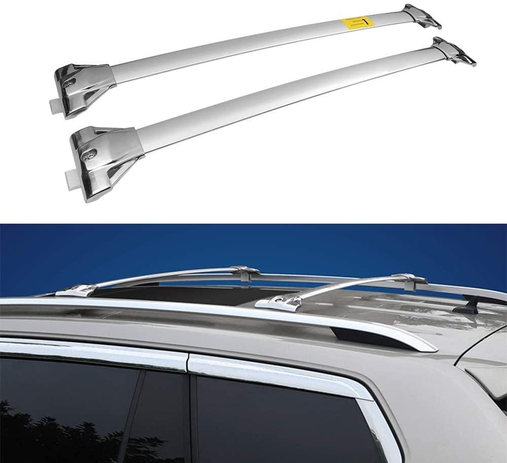 【35%OFF】 輸入カーパーツ 2個VWに適合-フォルクスワーゲン-2018-2020アトラステラモント-ステンレススチールクロスバークロスバールーフレールラックラゲッジカーゴキャリア 2Pcs Fit Roof Crossbars for 2Pcs VW- Volkswagen- 2018-2020 Atlas Teramont- Stainless Steel Crossbars Cross Bar Roof Rail, サバの専門店マルカネ:cfb4934e --- inglin-transporte.ch