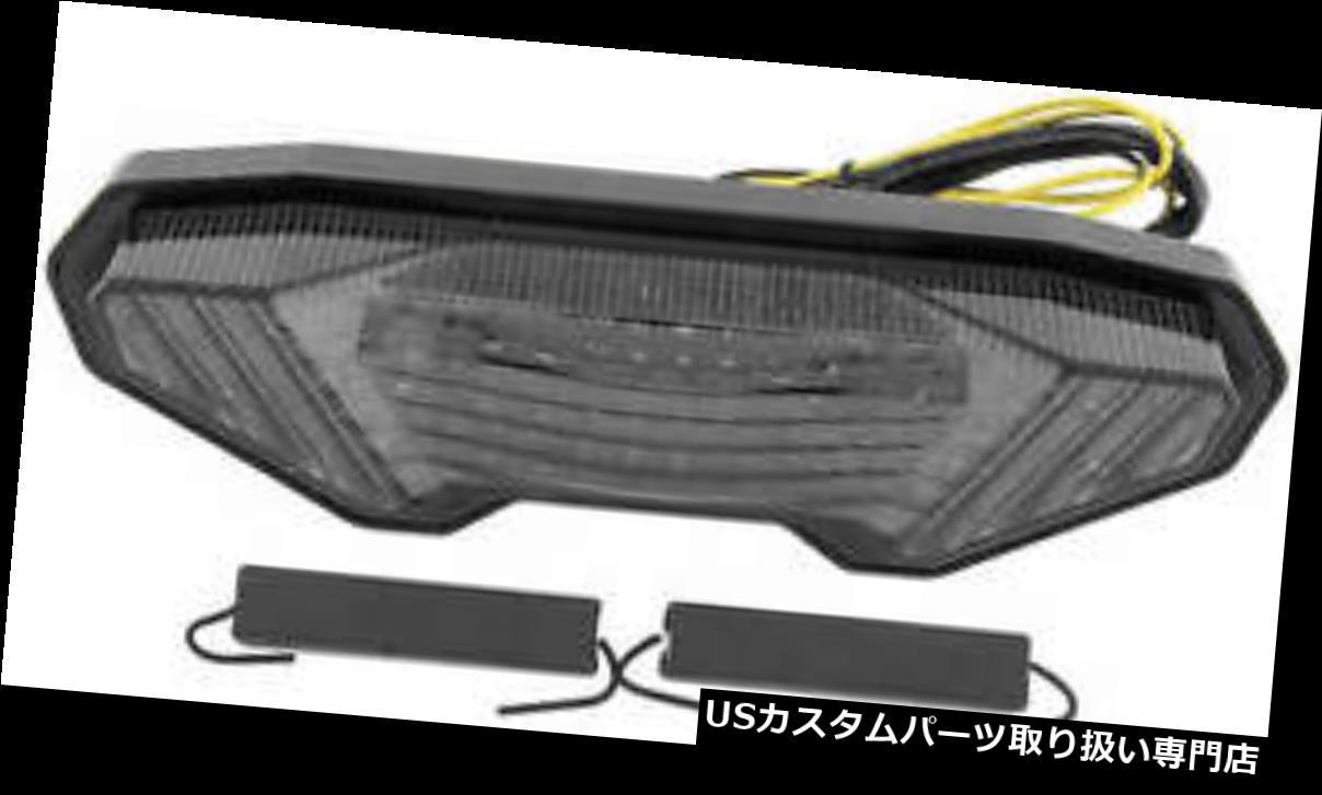 USテールライト BikeMaster TZY-332-INT-S一体型テールライトスモークレンズ  BikeMaster TZY-332-INT-S Integrated Taillight Smoke Lens:WORLD倉庫 店