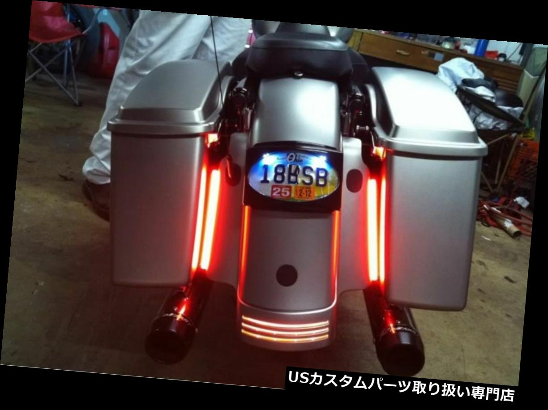 車用品・バイク用品 >> バイク用品 >> パーツ >> ライト・ランプ >> テールランプ USテールライト 2倍ハーレーダビッドソンLEDフェンダーブレーキテールライトターンシグナルバー 2x Harley Davidson LED Fender Brake Tail Light Turn Signal Bar