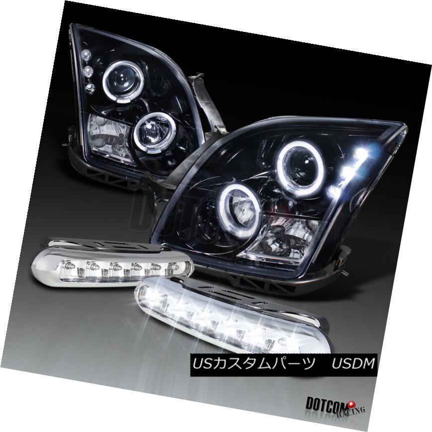 車用品 バイク用品 >> パーツ ライト ランプ ヘッドライト Piano Black 06-09 Ford Fusion 正規激安 DRLフォグランプ HaloプロジェクターヘッドライトW Headlights Lamps 店内限界値引き中 セルフラッピング無料 DRL Projector LED W Fog Halo ピアノブラック06-09