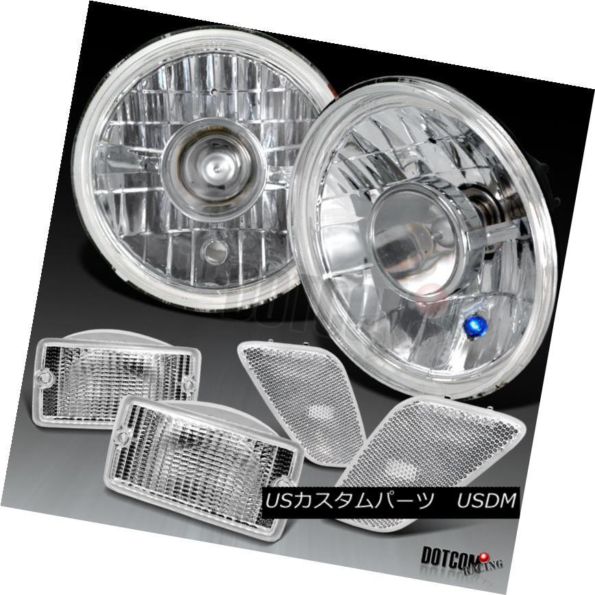 ヘッドライト 97-06 Jeep Wrangler Head Lights+Bumper+Side Markers 6PC 97-06ジープラングラーヘッドライト+バンパー+ サイドマーカー6PC