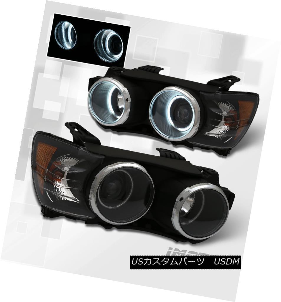 ヘッドライト [Dual CCFL Halo] 2012 2013 2014 2015 Chevy Sonic Black Projector Headlights Pair [Dual CCFL Halo] 2012 2013 2014 2015シボレーソニックブラックプロジェクターヘッドライトペア