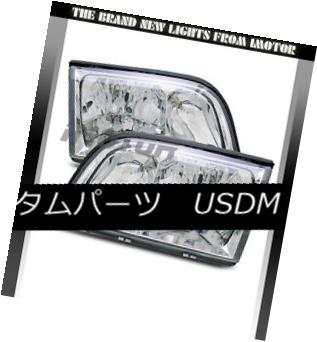 ヘッドライト 1992-1999 Mercedes Benz W140 S-Class 4Dr Sedan Chrome Headlights Pair 1992-1999 Mercedes Benz W140 Sクラス4Drセダンクロームヘッドライトペア
