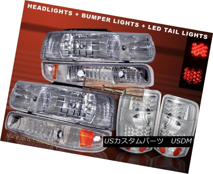 ヘッドライト 2000-2006 CHEVY TAHOE SUBURBAN HEADLIGHTS & LED TAIL LIGHTS & BUMPER LIGHTS 2000-2006 CHEVY TAHOE SUBURBAN HEADLIGHTS& LEDテールライト& バンパーライト