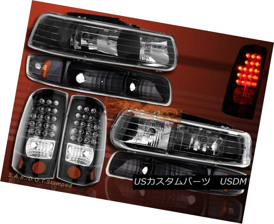 ヘッドライト 99-02 SILVERADO CRYSTAL HEADLIGHTS / BUMPER SIGNAL LIGHTS / LED TAIL LIGHTS 99-02シルバードクリスタルヘッドライト/バンパー信号ライト/ LEDテールライト