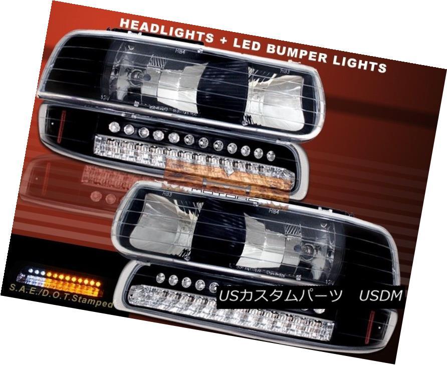ヘッドライト 99-02 CHEVY SILVERADO 00-06 CHEVY SUBURBAN TAHOE HEADLIGHTS / LED BUMPER LIGHTS 99-02 CHEVY SILVERADO 00-06 CHEVY SUBURBAN TAHOEヘッドライト/ LEDバンパーライト