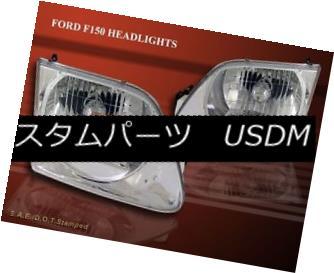 ヘッドライト 1997-2002 Ford Expedition / 1997-2003 F150 Headlights Chrome 1997-2002 Ford Expedition / 1997-2003 F150ヘッドライトクローム