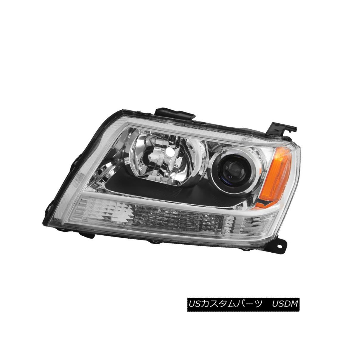 ヘッドライト Suzuki 06-08 Grand Vitara Replacement Headlight Driver / Left Side Lamp スズキ06-08 Grand Vitara交換ヘッドライトドライバー/左サイドランプ