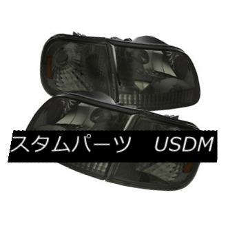 ヘッドライト Ford 97-03 F150 / Expedition Smoke Sens Replacment Corner + Headlights Set フォード97-03 F150 /遠征煙センサー交換コーナー+ヘッドライトセット