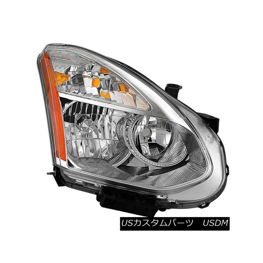 ヘッドライト Fit Nissan 08-13 Rogue 14-15 Select Replacement Headlight Passenger / Right Side フィット日産08-13不正行為14-15交換用ヘッドライトの選択乗客/右側