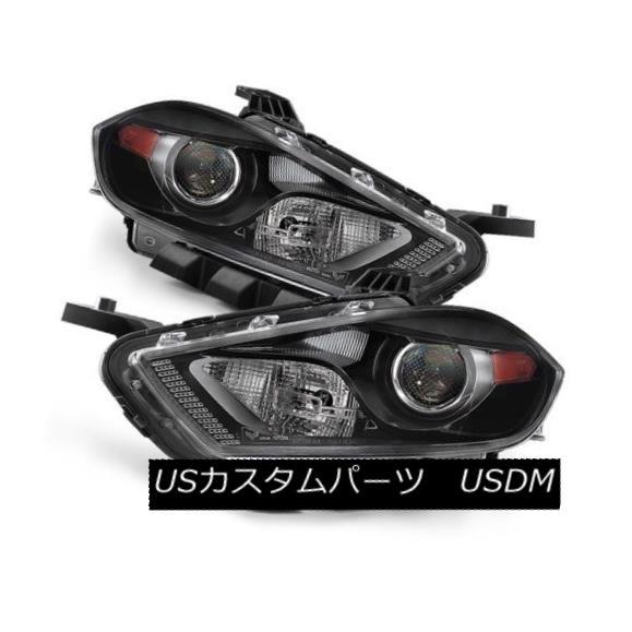ヘッドライト Dodge 13-15 Dart Replacement Headlight Driver/Left Side (Halogen Model Only) ドッジ13-15ダーツ交換ヘッドライトドライバー/左側(ハロゲンモデルのみ)
