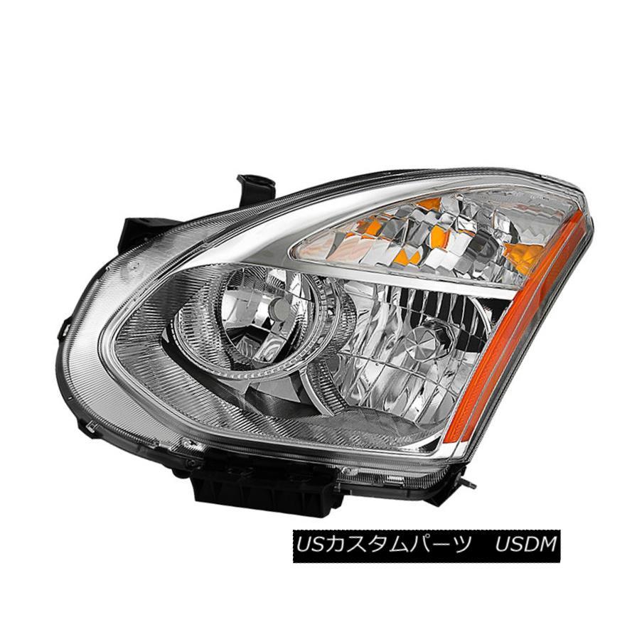 ヘッドライト Fit Nissan 08-13 Rogue 14-15 Select Replacement Headlight Driver Side HID Model フィット日産08-13不正行為14-15交換用ヘッドライトドライバサイドHIDモデルの選択