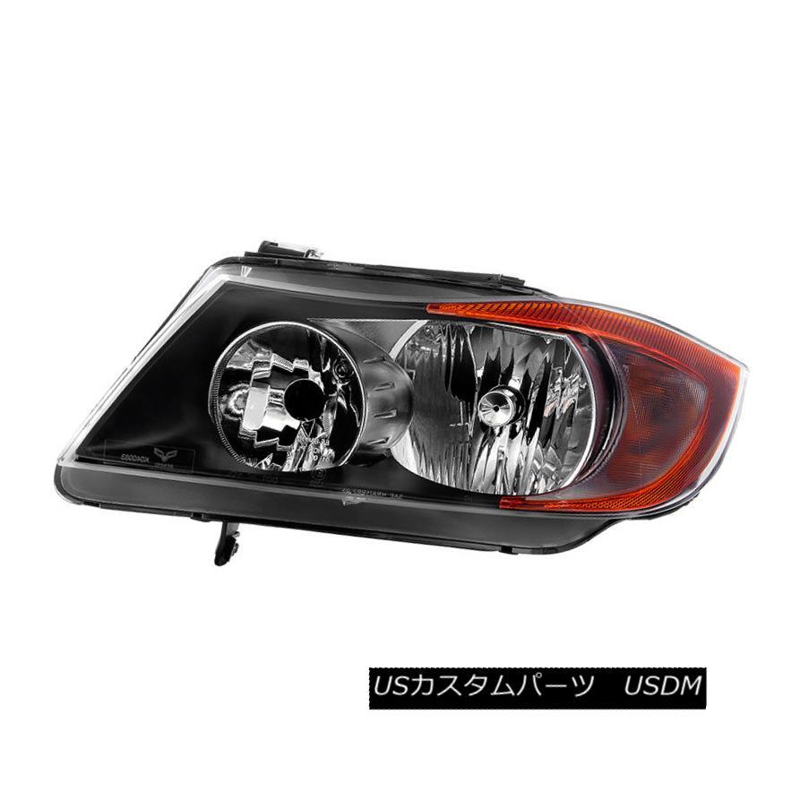 ヘッドライト BMW 06-08 E90 4dr Sedan 3-Series Replacement Headlight Driver / Left Side BMW 06-08 E90 4drセダン3シリーズ交換式ヘッドライトドライバ/左側