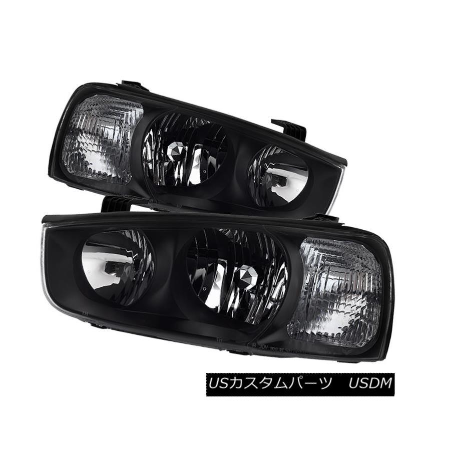 ヘッドライト Fit Hyundai 01-03 Elantra Replacement Headlights Left + Right Pair Set フィットヒュンダイ01-03エラントラ交換ヘッドライト左+右ペアセット