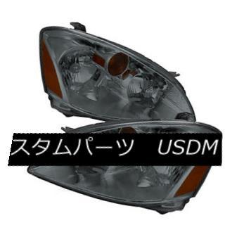 ヘッドライト Fit Nissan 02-04 Altima Smoke Lens Replacement Headlights Lamp Pair Sl S SE Fit Nissan 02-04 Altimaスモークレンズ交換用ヘッドライトランプペアS S SE