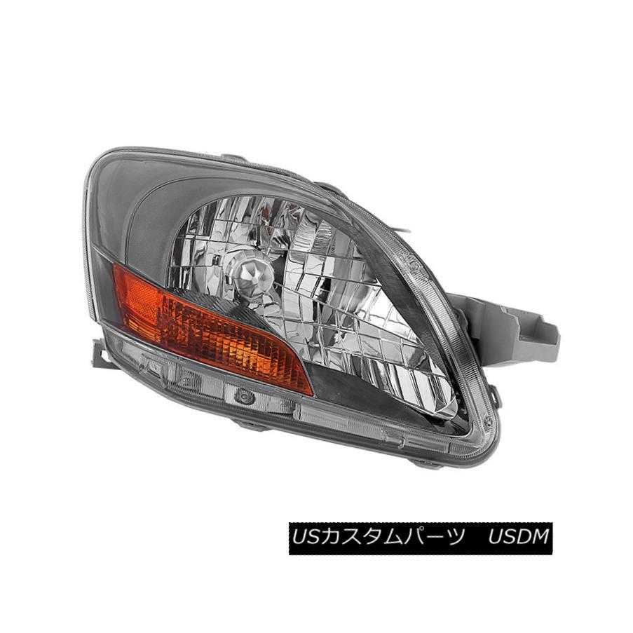 ヘッドライト Toyota 07-11 Yaris Chrome Housing Replacement Headlight Passenger / Right Side トヨタ07-11 Yarisクロームハウジング交換ヘッドライト乗客/右サイド