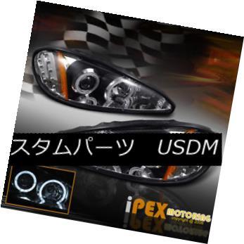 ヘッドライト 1999 2000 01 02 03 04 2005 Pontiac Grand AM Halo Projector LED Headlights Black 1999 2000 01 02 03 04 2005ポンティアックグランドAMハロープロジェクターLEDヘッドライトブラック