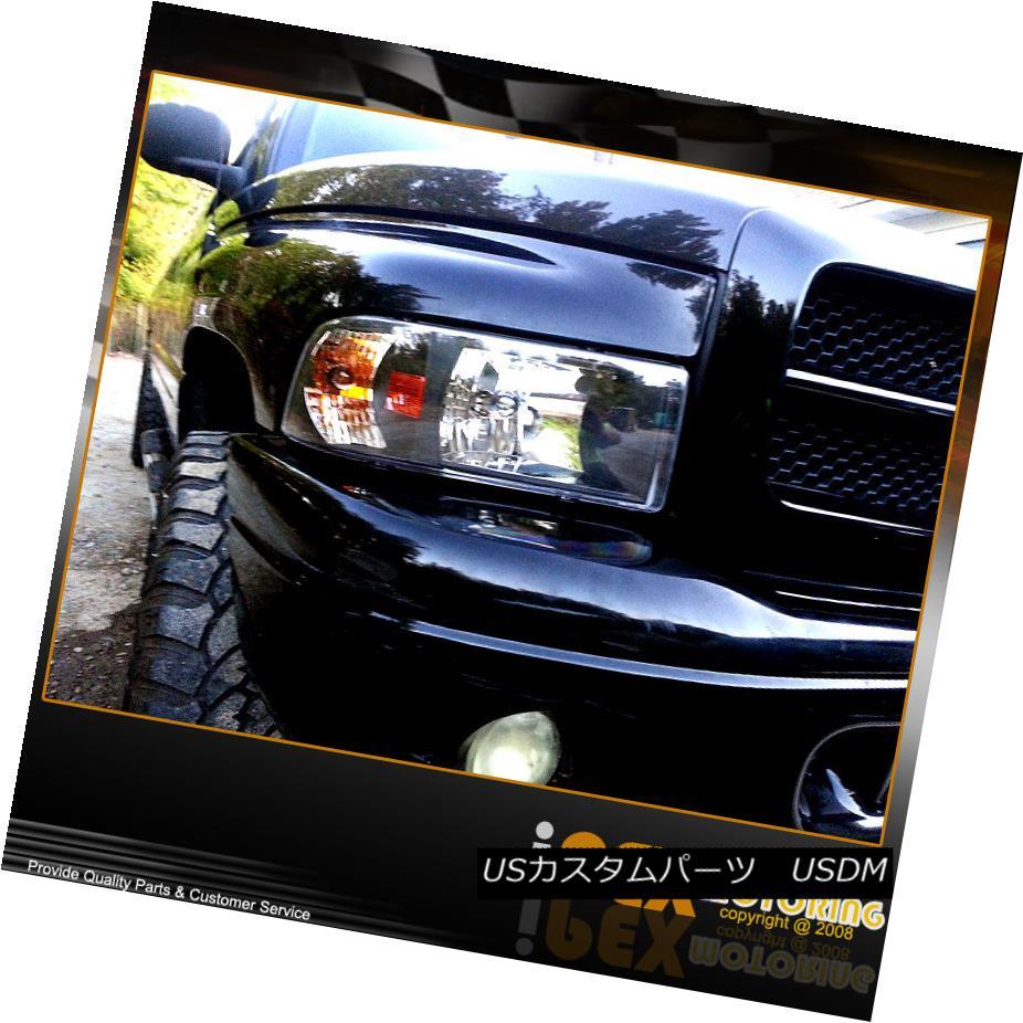 ヘッドライト [ BLACK ] 1994-2001 Dodge RAM 1500 2500 3500 Headlights W/ Corner Signal Light [BLACK] 1994-2001 Dodge RAM 1500 2500 3500ヘッドライトW /コーナー信号ライト