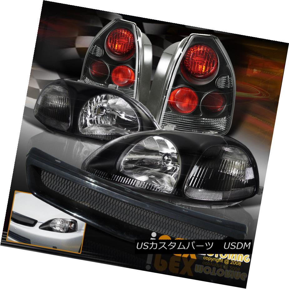 ヘッドライト 96-98 Civic 3DR