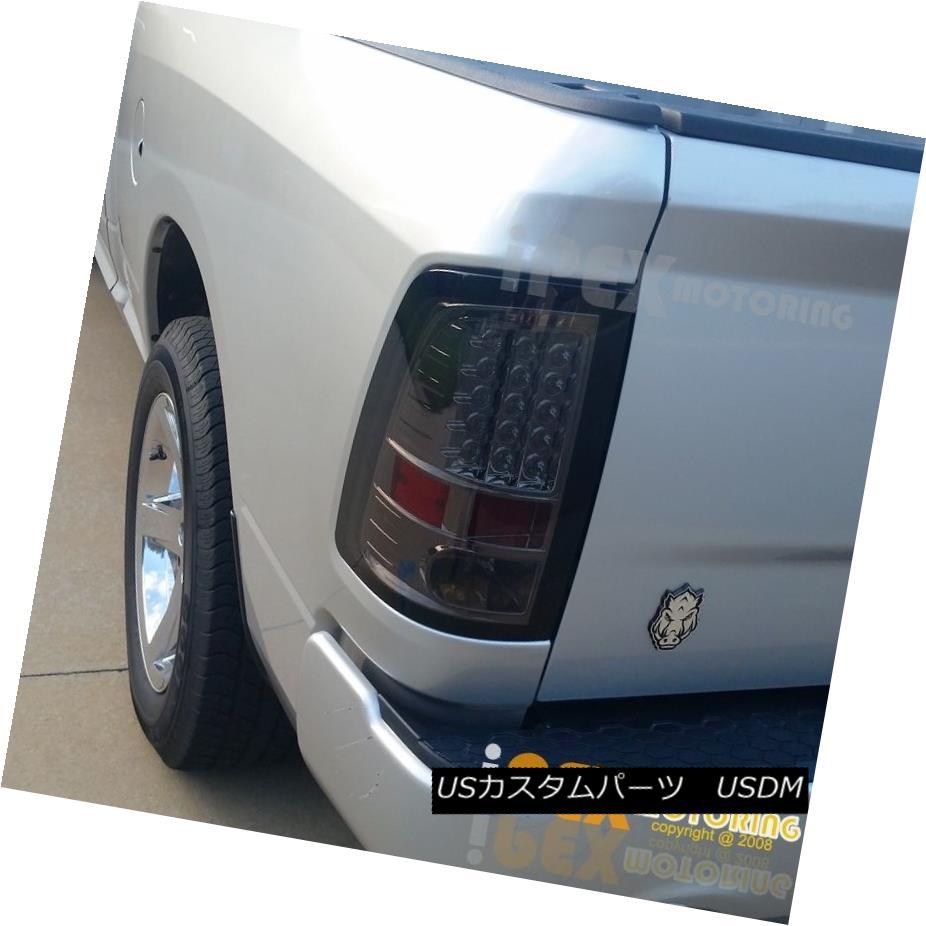 ヘッドライト For 2009-2016 Dodge Ram 1500 2500 3500 Brightest FULL LED Smoke Tail Lights 2009-2016 Dodge Ram 1500 2500 3500最も明るいフルLED煙テールライト