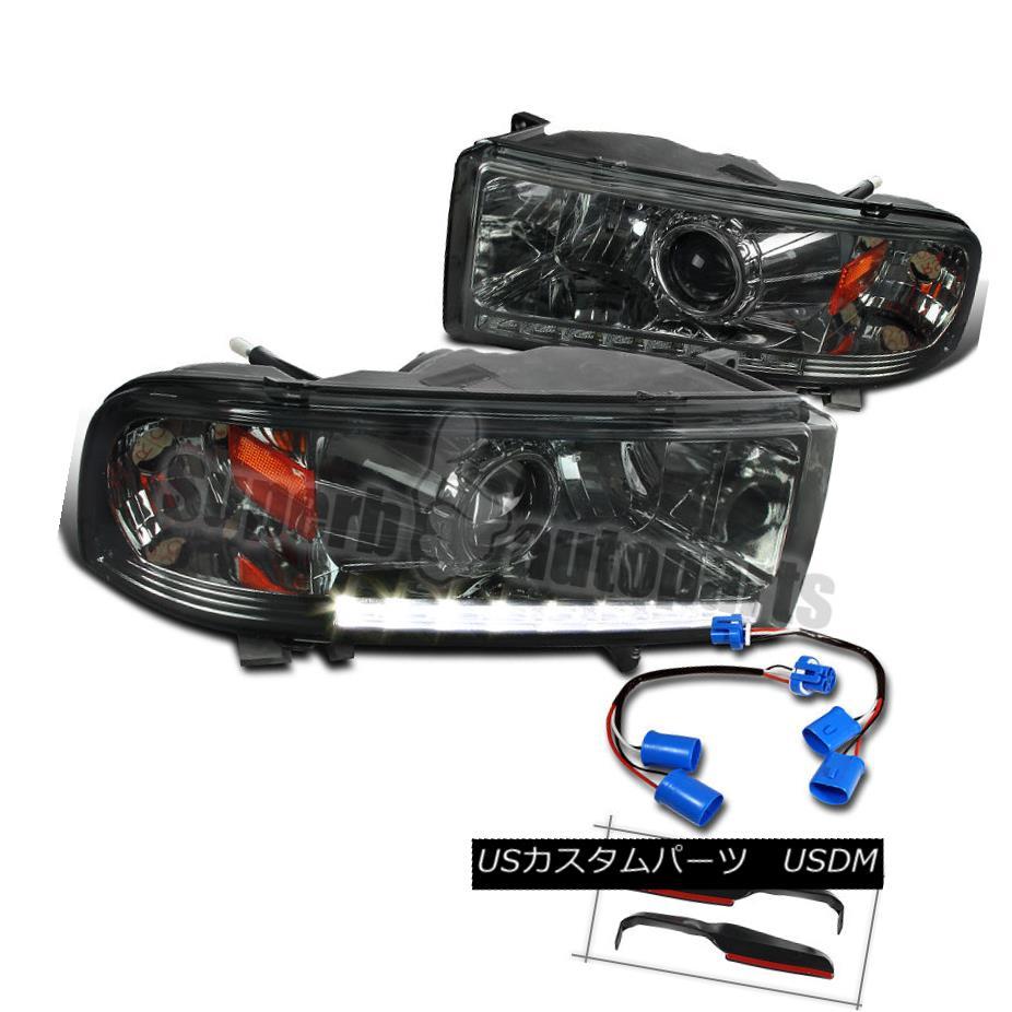 ヘッドライト Dodge 94-01 Ram 1500 94-02 Ram 2500 3500 Smoke LED Sport Projector Headlights Dodge 94-01 Ram 1500 94-02 Ram 2500 3500 Smoke LEDスポーツプロジェクターヘッドライト