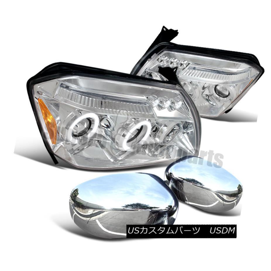 Fit Chevy Silverado 14-15 Euro Chrome Housing Head+Amber Corner Light Headlights