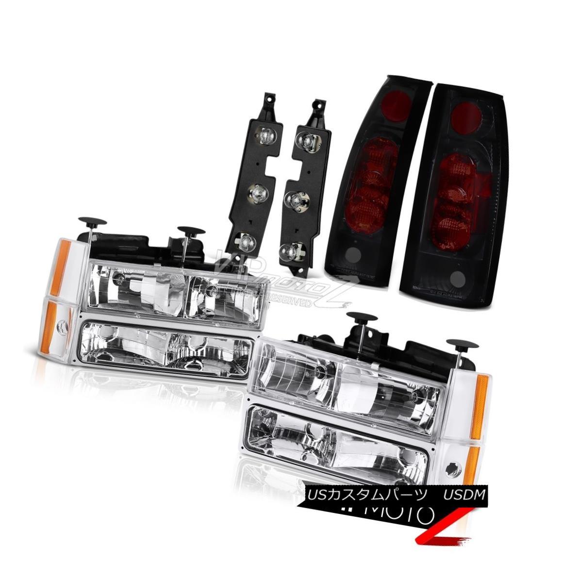 ヘッドライト 1988-1993 Chevy K2500 Tail Light Panel Headlights Signal Parking Taillamps L+R 1988-1993 Chevy K2500テールライトパネルヘッドランプ信号駐車用テールランプL + R