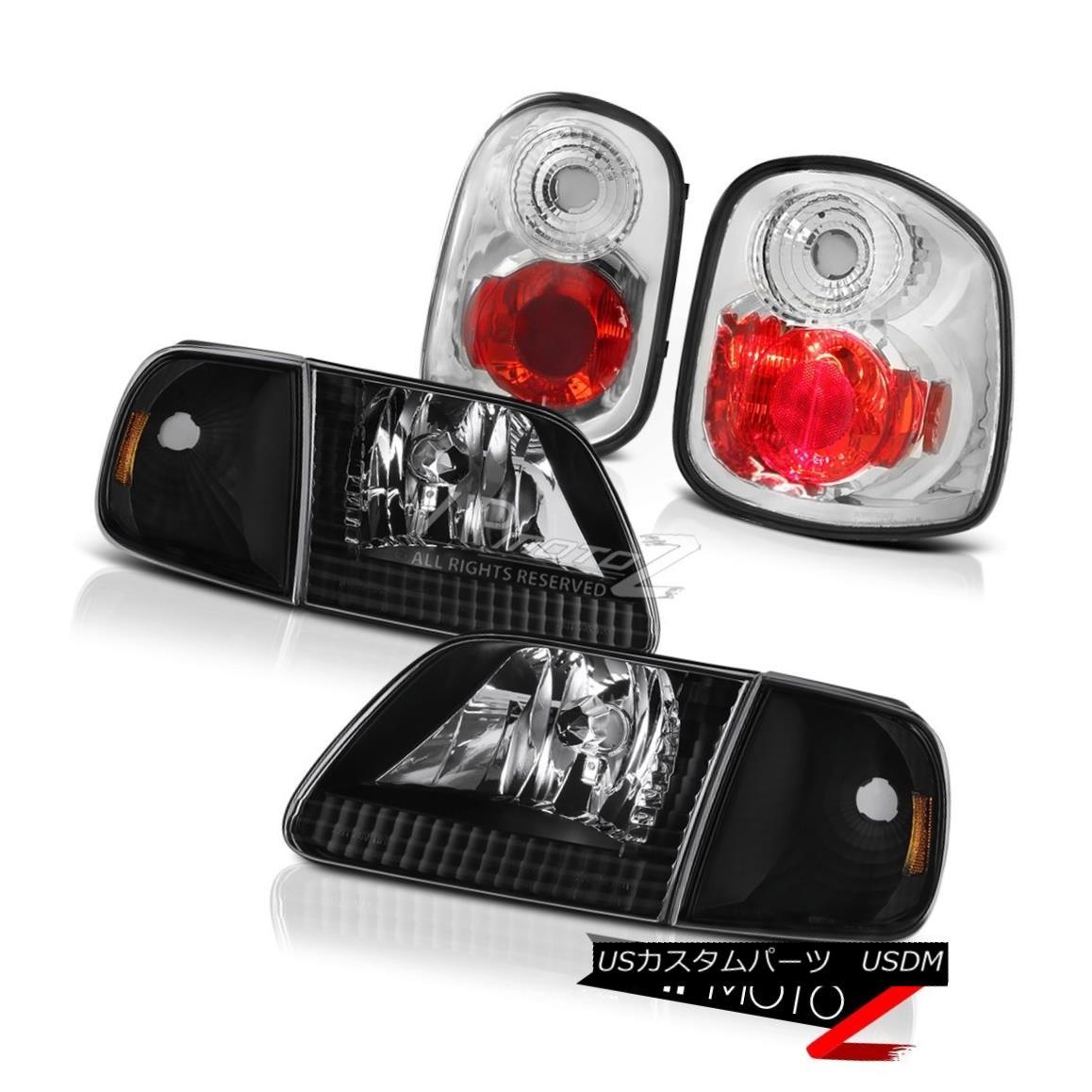 ヘッドライト L+R Corner Headlights Rear Signal Brake Lights 1997-2000 Ford F150 Flareside SVT L + Rコーナーヘッドライトリアシグナルブレーキライト1997-2000 Ford F150 Flareside SVT