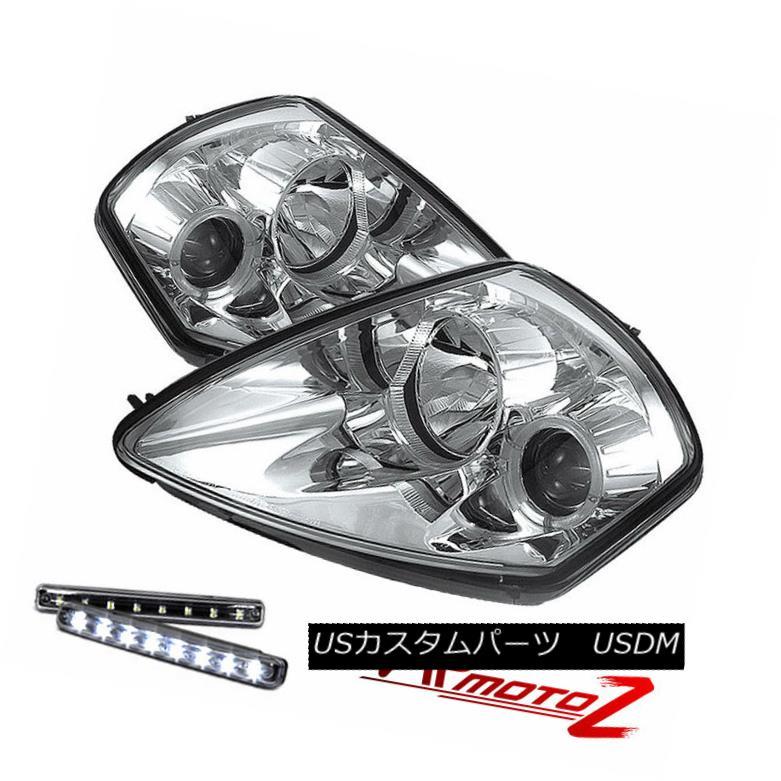 ヘッドライト >>LED LIGHT BAR KIT<< Eclipse 00-02 Spyder GT 3G Chrome Halo Projector Headlight &gt;&lt; LEDライトバーキット&lt; Eclipse 00-02 Spyder GT 3G Chrome Haloプロジェクターヘッドライト