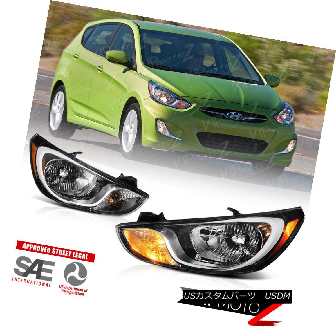 ヘッドライト For 2012-2014 Hyundai Accent