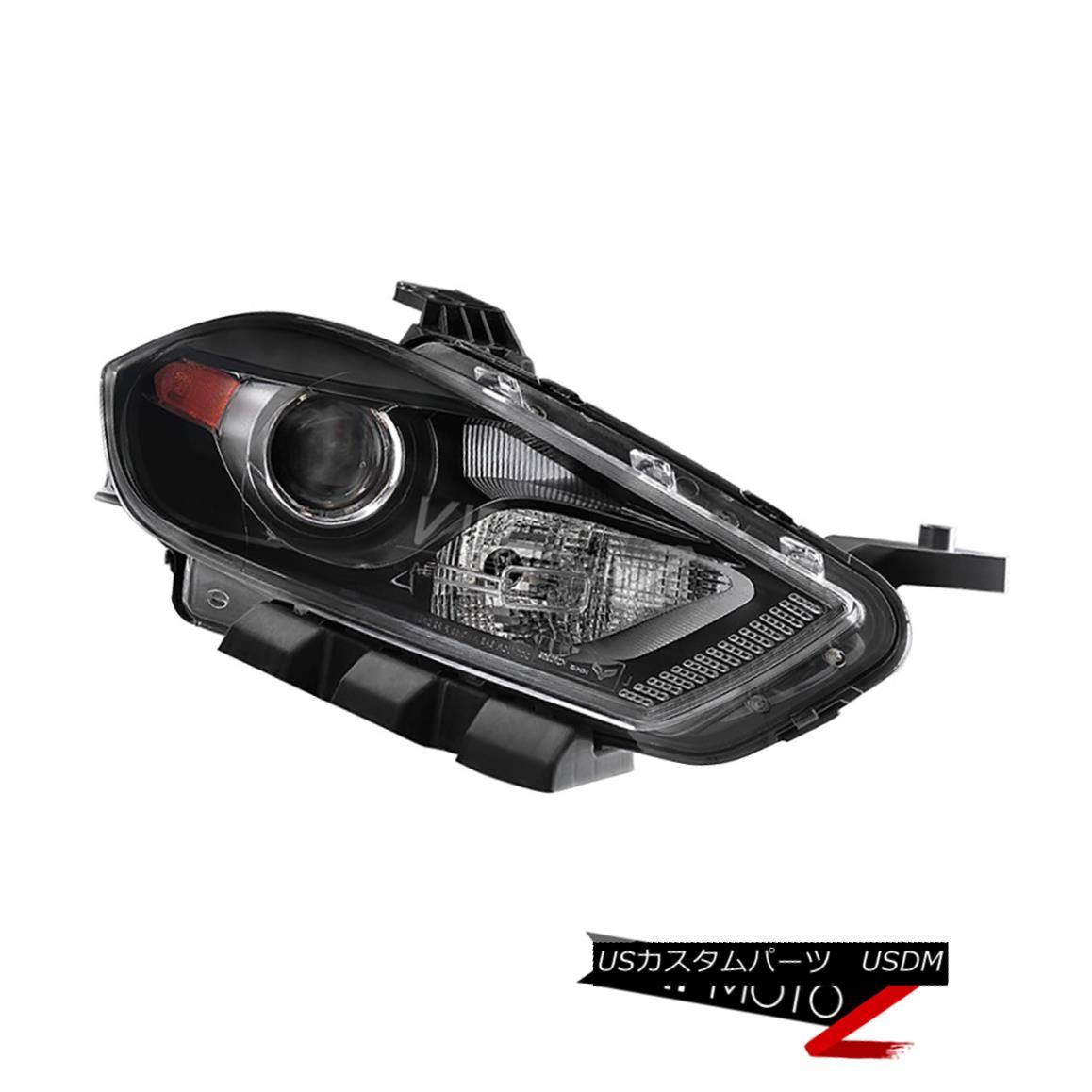 ヘッドライト Dodge Dart 2013-2016 [Xenon] Black Projector Headlamp Passenger Right Headlights Dodge Dart 2013-2016 [キセノン]ブラックプロジェクターヘッドランプ乗客ライトヘッドライト