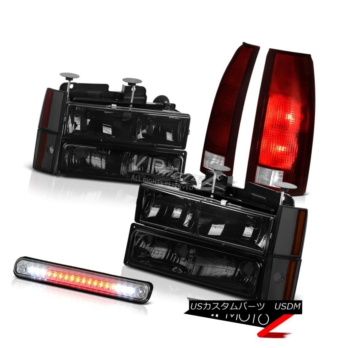 ヘッドライト 88-93 Chevy K1500 Roof Brake Light Rear Lamps Headlights Bumper Corner Oe Style 88-93 Chevy K1500ルーフブレーキライトリアランプヘッドライトバンパーコーナーOEスタイル