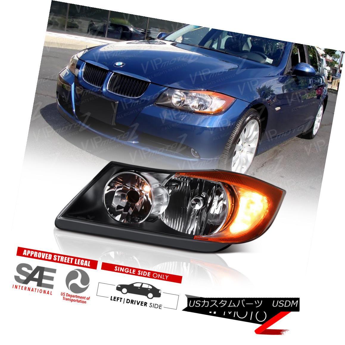 ヘッドライト [Driver Side] BMW E90 Sedan 2006-2008 330 328 325 335 Left Headlights Headlamps [ドライバーサイド] BMW E90セダン2006-2008 330 328 325 335左ヘッドライトヘッドランプ