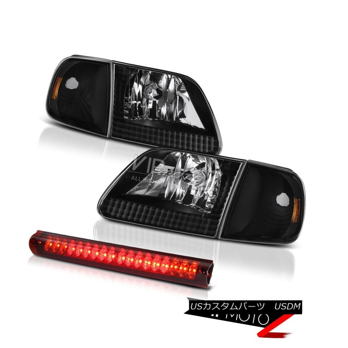 ヘッドライト Parking Headlamps LH+RH High Brake Cargo LED 1997-2003 Ford F150 Flareside 4.6L 駐車用ヘッドライトLH + RHハイブレーキ用カーゴLED 1997-2003 Ford F150 Flareside 4.6L