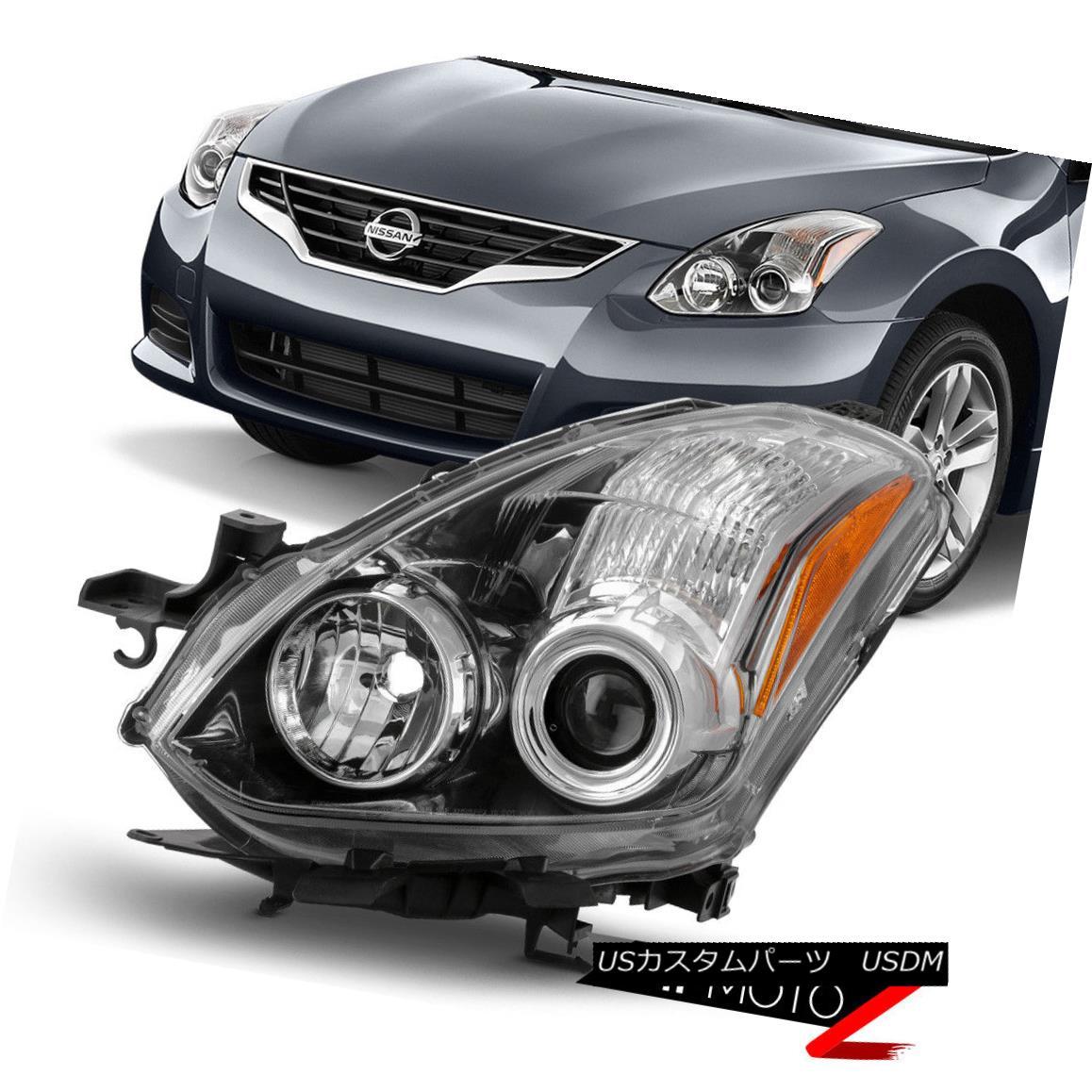 ヘッドライト {FACTORY STYLE} Fits 2010-2013 Nissan Altima Coupe Replace Driver Side Headlamp {FACTORY STYLE}フィット2010-2013日産アルティマクーペ交換ドライバーサイドヘッドランプ